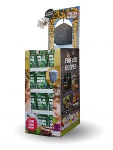 Waspinator – répulsif à guêpes – présentoir au sol 144pc - AIC International