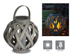 Solar lantern Aurea 23 cm - AIC International