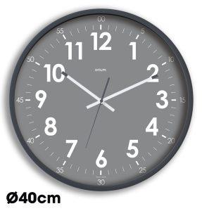 Horloge quartz Silencieuse Oris Ø40cm –  Gris - AIC International