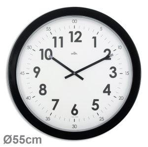 Horloge géante quartz silencieux Imperia Ø54 cm – Noir - AIC International