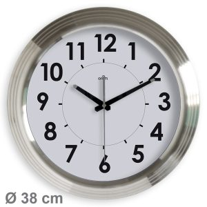 Horloge quartz Wavy étanche Ø38 cm - AIC International