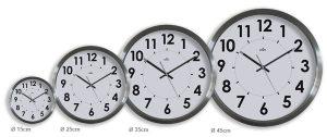 Horloge inox Stan Ø35 cm