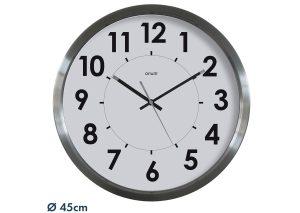 Stainless steel clock Ø45 cm - AIC International