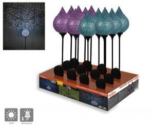 Display – 12 solar decoration Idriss - AIC International