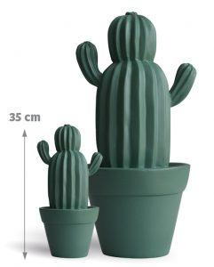 Cactus d'extérieur Yuma Vert d'eau 35 cm - AIC International