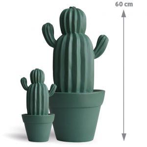 Cactus d'extérieur Yuma vert d'eau 60 cm - AIC International