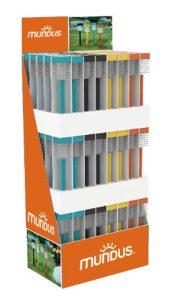 Présentoir – balise solaire colorée Quadro 120pc - AIC International