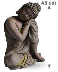 Décoration d'extérieur Bouddha Aram 43 cm - AIC International