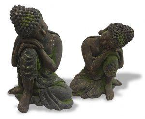 Décoration d'extérieur Bouddha Aram 53 cm