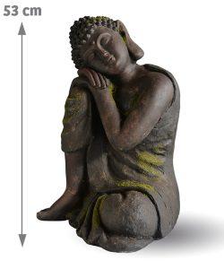 Décoration d'extérieur Bouddha Aram 53 cm - AIC International
