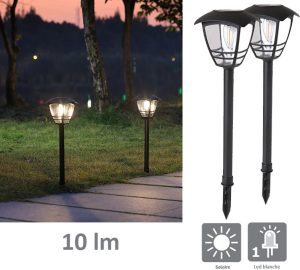 Solar light Edison 10lm - AIC International