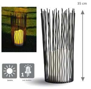 Lanterne solaire Mikado H35cm - AIC International