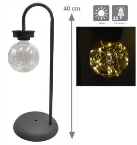 Solar table lamp Stella 20led - AIC International