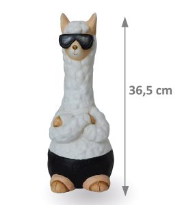 Llama decoration Jackson H36.5cm - AIC International