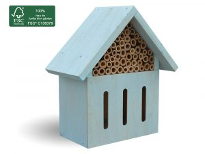 FSC 100% Insect hotel H24 cm Rubio - AIC International