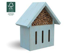 Hôtel à insectes Azurea H20 cm FSC® certifié 100% - AIC International