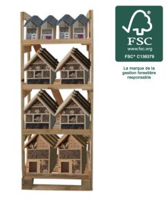 Display Insect hotel 36pc FSC® certified 100% - AIC International