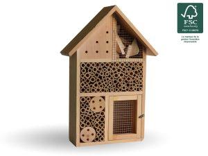 Hôtel à insectes Dory 38cm  FSC® certifié 100% - AIC International