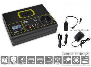 Batterie Autonome Lithium Compak 150Wh - AIC International