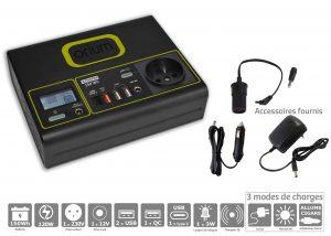 Batterie Autonome Lithium Compak Intégrale 150Wh - AIC International