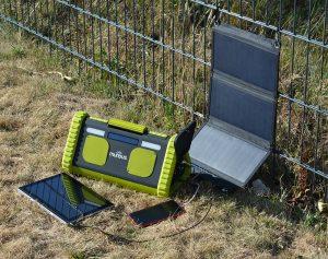 Sunpower Foldable solar panel 20W