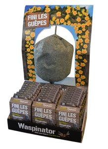 Waspinator – répulsif à guêpes – présentoir 24pc - AIC International