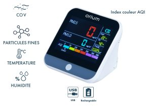 Indoor air quality monitor Quaelis 24 - AIC International