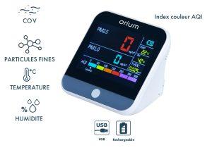 Mesureur de qualité de l'air intérieur Quaelis 24 - AIC International