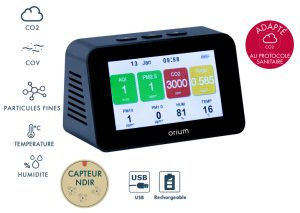 Indoor air quality monitor Quaelis 34 - AIC International
