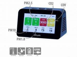 Graphik Indoor Air Quality Monitor - AIC International
