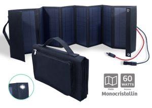 Folding Monochristallin Solar panel 60W - AIC International