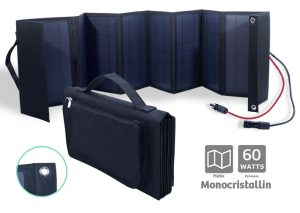 Folding Monochristallin Solar panel 60W - AIC International