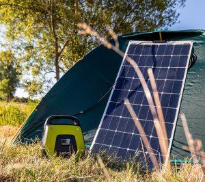 Semi-flexible sunpower Solar panel 120W