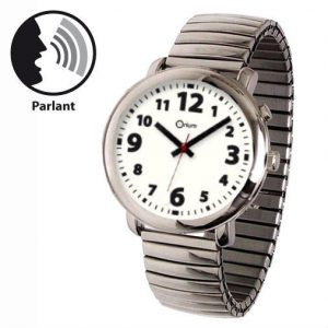 Montre parlante homme métal - AIC International