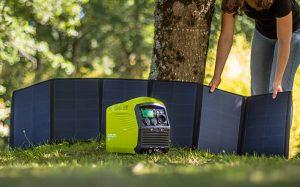 Pack Power station IZYWATT 1000 + 120W foldable solar panel