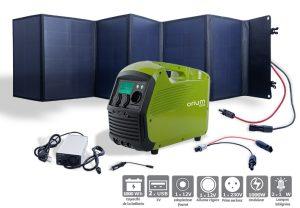 Pack Power station IZYWATT 1000 + 120W foldable solar panel - AIC International