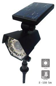 Spot solaire Mesta avec détection 5 – 150lm - AIC International