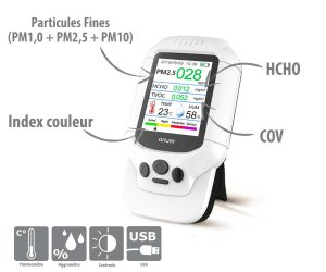 Indoor Air Quality Monitor Quaelis 38 - AIC International