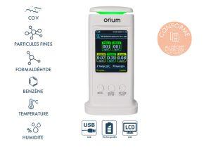 Mesureur de qualité de l'air intérieur Quaelis 40 - AIC International