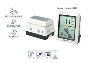 Mesureur de qualité de l'air extérieur Quaelis 14 - AIC International