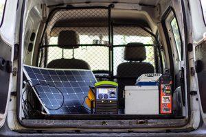 Pack Power station IZYWATT 1500 + flexible solar panel 120W