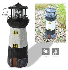 Phare lumineux solaire H37 cm - AIC International