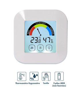 Thermomètre Hygromètre Touch - AIC International