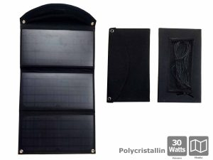 Foldable solar panel 30W - AIC International