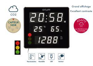 Horloge CO2 Quaelis 18 - AIC International