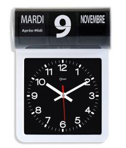 Horloge à date à volet FR - AIC International