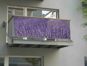 Bâche de balcon lavande 250 cm - AIC International