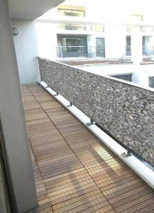 Bâche de balcon Stone 500 cm - AIC International