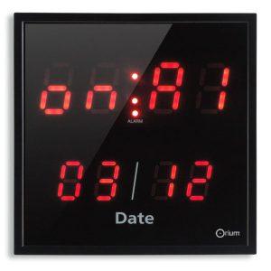 Horloge 3alarmes +télécommande