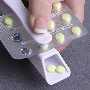 Decapper of pills